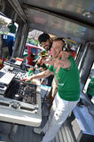 St. Patricks Day DJ Stock Image