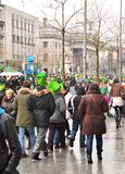 St patricks day dublin Royalty Free Stock Photography