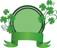St. Patricks Day frame Stock Photos