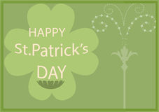 St patricks day frame border background Royalty Free Stock Image