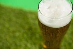 St Patricks Day glass of beer Royalty Free Stock Photo