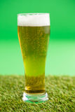 St Patricks Day glass of beer Royalty Free Stock Photos