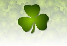 St. Patricks Day green background Stock Photography