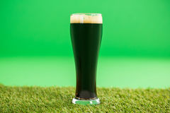 St Patricks Day green beer Stock Photography