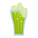 St patricks day green beer Royalty Free Stock Images