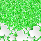 St. Patricks day Greeting Card Stock Photography