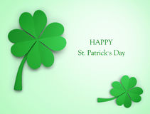 St. Patricks Day greeting Royalty Free Stock Images