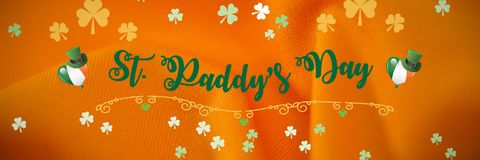 St Patricks Day Greeting vector illustration