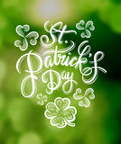 St patricks day greeting vector Royalty Free Stock Images