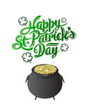 St patricks day greeting vector Stock Images