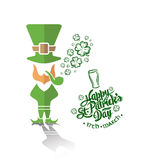 St patricks day greeting vector Stock Photo
