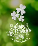 St patricks day greeting vector vector illustration