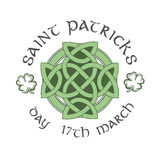St patricks day greeting vector Royalty Free Stock Image
