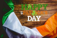 St patricks day greeting Stock Photography