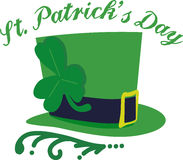 St. Patricks Day Hat Royalty Free Stock Photos