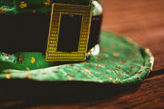 St patricks day hat Stock Image