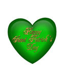 St Patricks Day heart Stock Images