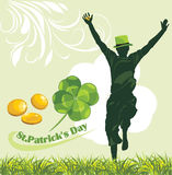 St. Patricks Day. Holiday banner royalty free stock image