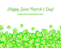 St. Patricks Day holiday frame Royalty Free Stock Photography