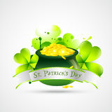 St. patricks day illustration Royalty Free Stock Photos