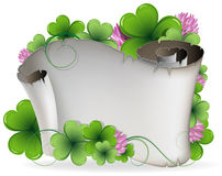 St. Patricks Day invitation Royalty Free Stock Image