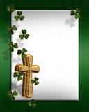 St Patricks day Irish border Royalty Free Stock Photos