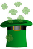 St Patricks Day Irish Leprechaun Hat Stock Photos