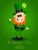 St Patricks day leprechaun Stock Photo