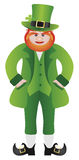 St Patricks Day Leprechaun Standing Illustration Royalty Free Stock Photo