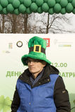 St. Patricks day in Moscow Royalty Free Stock Photography