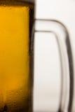 St Patricks Day mug of beer. Close-up of st Patricks day mug of beer Stock Photography