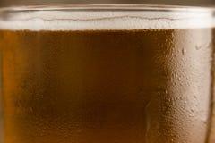 St Patricks Day mug of beer. Close-up of st Patricks day mug of beer Stock Images