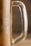St Patricks Day mug of beer. Close-up of st Patricks day mug of beer Stock Photos