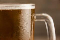 St Patricks Day mug of beer. Close-up of st Patricks day mug of beer Royalty Free Stock Photography