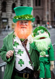 St Patricks Day. NEW YORK, NY, USA - MAR 17:  at the St. Patrick's Day Parade on March 17, 2014 in New York City, United States Royalty Free Stock Photography