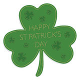St patricks day ornament Stock Images