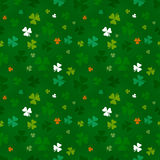 St. Patricks Day pattern Stock Photo