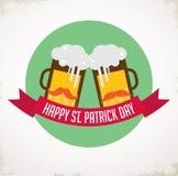 St. Patricks day pub and party invitation Stock Photo