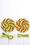 St Patricks Day Rainbow Lollipops Royalty Free Stock Photo