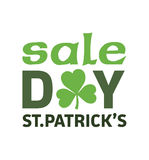 St patricks day sale advertisement vector Royalty Free Stock Image