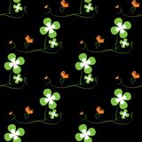 St. Patricks day seamless pattern Stock Images