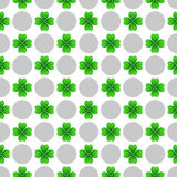 St patricks day seamless pattern Stock Photos