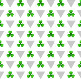 St patricks day seamless pattern Royalty Free Stock Photos