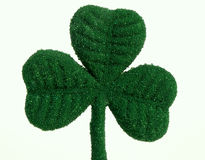 St. Patricks Day shamrock. Beaded shamrock for St Patricks Day stock images