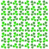 St Patricks Day shamrock background Stock Image