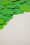 St Patricks Day shamrocks Stock Photo