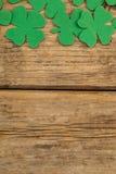 St. Patricks Day shamrocks Stock Photo