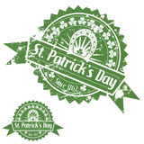 St. Patricks Day Stamps Stock Images
