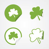 St Patricks Day Stickers Royalty Free Stock Photo