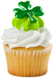 St Patrick's Cupcake Stock Photo